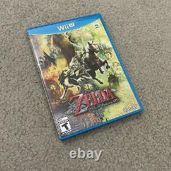 The Legend of Zelda Twilight Princess HD (Nintendo Wii U, 2016) CIB EUC MINT