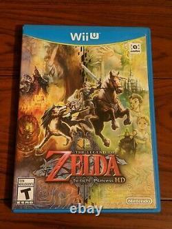 The Legend of Zelda Twilight Princess HD (Nintendo Wii U, 2016) Complete CIB