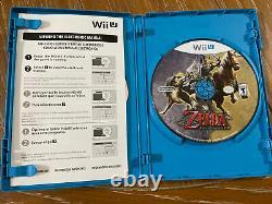The Legend of Zelda Twilight Princess HD (Nintendo Wii U, 2016) Complete Tested