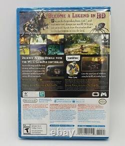 The Legend of Zelda Twilight Princess HD (Nintendo Wii U, 2016) SEALED