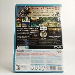 The Legend of Zelda Twilight Princess HD Nintendo Wii U 2016 + Wolf Link Amiibo