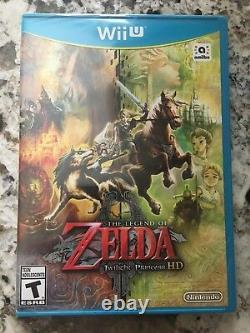 The Legend of Zelda Twilight Princess HD Nintendo Wii U Brand New NO Amiibo
