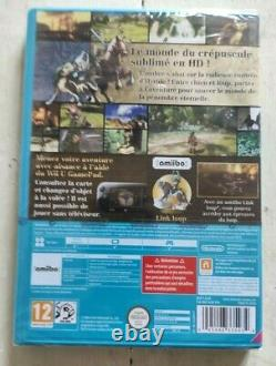 The Legend of Zelda Twilight Princess HD Nintendo Wii U NEUF