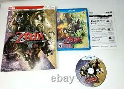 The Legend of Zelda Twilight Princess HD Nintendo Wii U with Official Guide VG