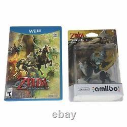 The Legend of Zelda Twilight Princess HD Nintendo Wii U withWolf Link Amiibo