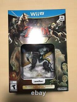 The Legend of Zelda Twilight Princess HD (Wii U, 2016) NEW / SEALED
