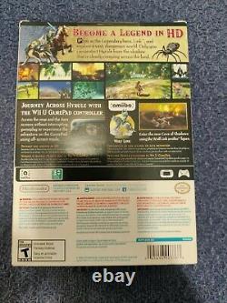 The Legend of Zelda Twilight Princess HD (Wii U, 2016) + Wolf Link Amiibo