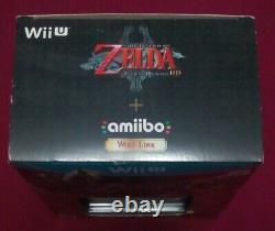 The Legend of Zelda Twilight Princess HD (Wii U, 2016) with Amiibo New