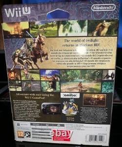 The Legend of Zelda Twilight Princess HD with Amiibo Limited Edition Wii U