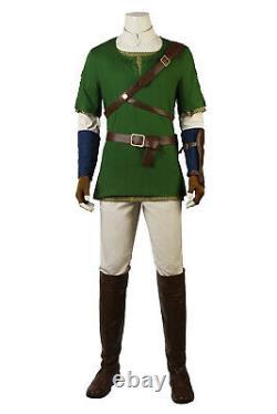 The Legend of Zelda Twilight Princess Link Cosplay Costumes Zelda Outfits