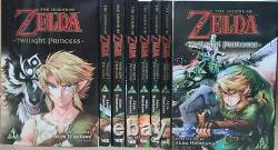 The Legend of Zelda Twilight Princess Manga Books Lot Volumes 1-8 English Viz