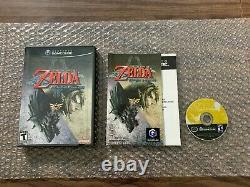 The Legend of Zelda Twilight Princess (Nintendo GameCube) - Complete - Tested