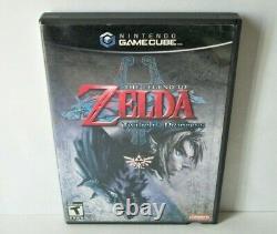 The Legend of Zelda Twilight Princess Nintendo GameCube Good Disc Game Case Cube