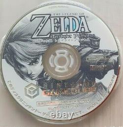 The Legend of Zelda Twilight Princess Nintendo Gamecube NTSC-J JAP JAPAN TBE