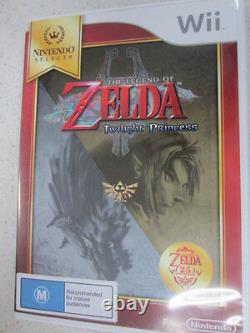 The Legend of Zelda Twilight Princess Selects Wii Game PAL Region (NEW) 999