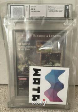 The Legend of Zelda Twilight Princess WATA 9.2 B+ Seal 1st Party US Gamecube