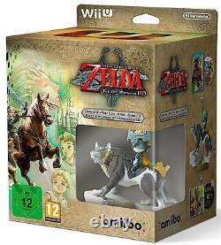 The Legend of Zelda Twilight Princess WIIU Limited Edition italiano