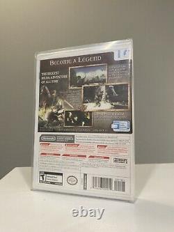 The Legend of Zelda Twilight Princess (Wii, 2006) 1st Print SEALED GEM