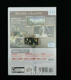 The Legend of Zelda Twilight Princess (Wii, 2006) 1st Print Ships Priority