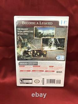 The Legend of Zelda Twilight Princess (Wii, 2006) BRAND NEW LK