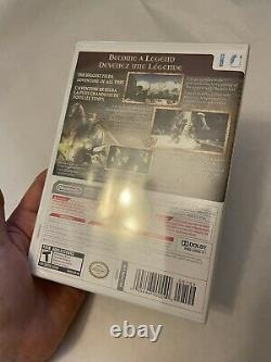 The Legend of Zelda Twilight Princess (Wii, 2006) BRAND NEW, SEALED! No Rips