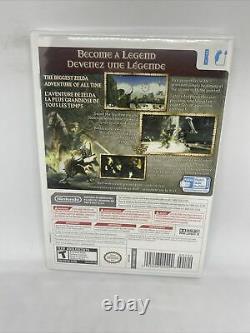 The Legend of Zelda Twilight Princess (Wii, 2006) Brand New Factory Sealed