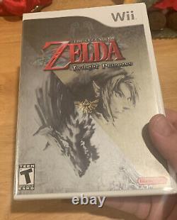 The Legend of Zelda Twilight Princess (Wii, 2006) Excellent Cond. Not Graded