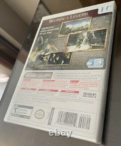 The Legend of Zelda Twilight Princess (Wii, 2006) NEW SEALED First Print Rare