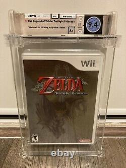 The Legend of Zelda Twilight Princess (Wii, 2006) Wata 9.4 A+