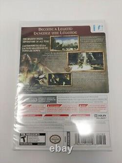 The Legend of Zelda Twilight Princess Wii Brand New Sealed