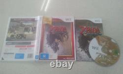 The Legend of Zelda Twilight Princess Wii Game Used PAL Region 999