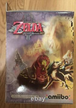 The Legend of Zelda Twilight Princess Wii U Limited Edition + Exclusive T-Shirt