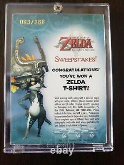 The Legend of Zelda Twilight Princess Winner Sweepstakes Card 093/288 Midna 2007