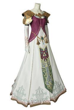 The Legend of Zelda Twilight Princess Zelda Outfits Cosplay Costume Halloween