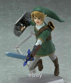 The Legend of Zelda figure LINK Twilight Princess DX Ver. Figuma 320 Japan F/S