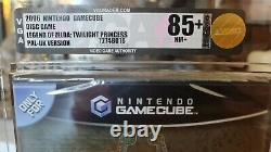 VGA 85+ Gold The Legend of Zelda Twilight Princess GameCube PAL Sealed
