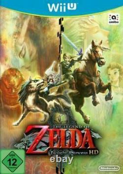 Wii U Legend Of Zelda Twilight Princess Mint Same Day Dispatch 1st Class Del