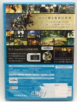 Wii U WiiU Japanese The Legend of Zelda Twilight Princess HD Factory Sealed