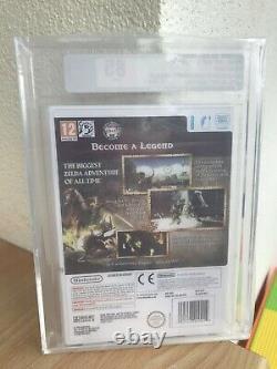 Wii VGA Grade The Legend Of Zelda Twilight Princess Europe PAL (NM+ 85)