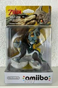 Wolf Link Amiibo Figur Legend of Zelda Twilight Princess Nintendo WIIU Switch